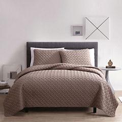 VCNY Nina Embossed Quilt Set