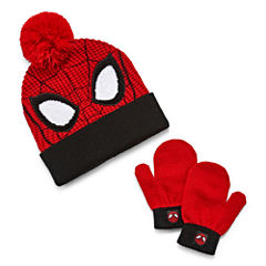2-pc. Spiderman Hat & Glove Set-Toddler Boys