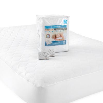 biddeford quilted heated mattress pad