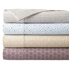 Studio 550tc Print Wrinkle Free Performance Sheet Sets and Pillowcases