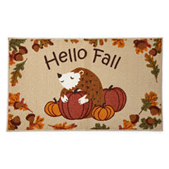 JCPenney Home™ Hello Fall Rectangular Rug