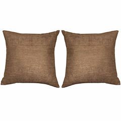 Kensie Kerry 2-Pack Square Throw Pillow