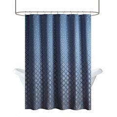 Madison Park Morris Jacquard Shower Curtain