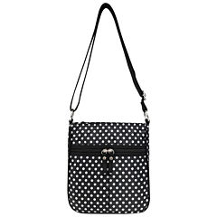 St. John's Bay Nylon Multi Entry Crossbody Bag