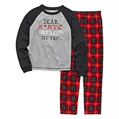 #FAMJAMS Dear Santa Family Pajama Set- Toddler Boys
