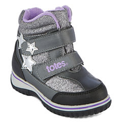 Totes Cold Weather Boot Girls Water Resistant Winter Boots
