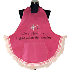Women's When I Said I Do Apron