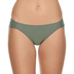 Arizona Solid Hipster Swimsuit Bottom-Juniors