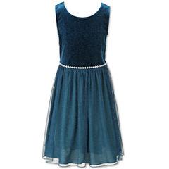 Speechless Sleeveless Peasant Dress - Big Kid Girls Plus