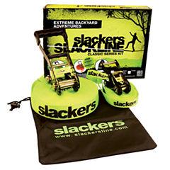 Classic Slackline Swing Set