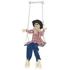 Kicking Scarecrow on Swing