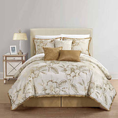 Home Expressions Gold Reversible 7-pc. Comforter Set
