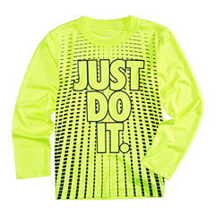 Nike Long Sleeve T-Shirt-Preschool Boys