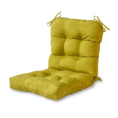 outdoor seatback chair cushion