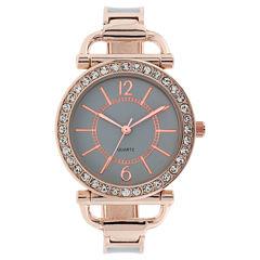 Mixit Womens Gold Tone Bracelet Watch-Jcp3008gr