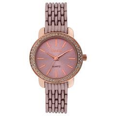 Geneva Womens Pink Bracelet Watch-Jcp3006pr