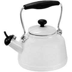 Chantal® 2-qt. Enamel-on-Steel Vintage Teakettle