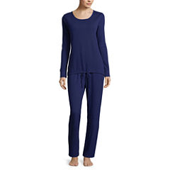 Liz Claiborne 2-pc.Thermal Pant Pajama Set