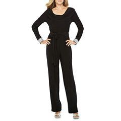 Blu Sage Long Sleeve Jumpsuit