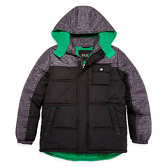 Puffer With Space Dye Print- Boys Big Kid