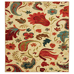 Mohawk Home Strata Tropical Acres Printed Square Rugs