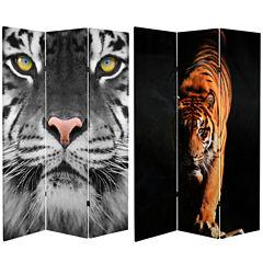 Oriental Furniture 6' Tiger Room Divider