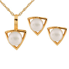 Girls 2-pc. 14K Gold Jewelry Set