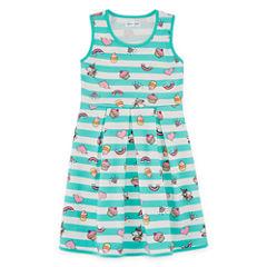 Emerald Gumdrops Sleeveless Party Dress - Big Kid Girls