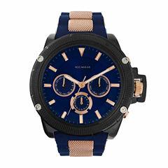 Rocawear Mens Black Bracelet Watch-Rm7814bk1-104