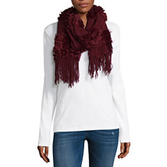 Mixit Fringe Oblong Cold Weather Scarf