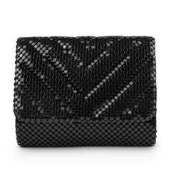 Gunne Sax by Jessica McClintock Katie Quilted Mesh Clutch Evening Bag