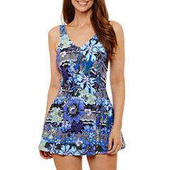 Azul Floral Swim Dress