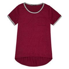 Insta Girl Graphic at Back T-Shirt- Girls' 7-16