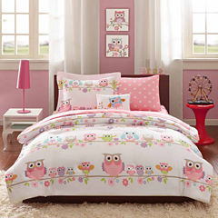 Noctural Nellie Queen Complete Bedding Set with Sheets