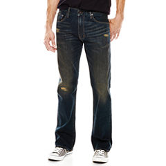 Arizona Flex Original Bootcut Destruction Jeans