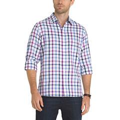 Van Heusen Long Sleeve Never Tuck Shirt