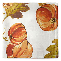 JCPenney Home Pumpkin Patch Set of 4 Napkins