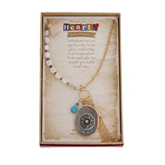 Sandra Magsamen 28 Inch Chain Necklace