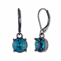 Gloria Vanderbilt Brass Drop Earrings