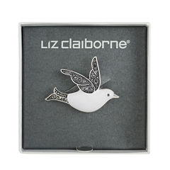 Liz Claiborne Gray Pin