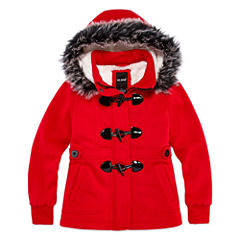 Me Jane Midweight Fleece Jacket-Big Kid Girls