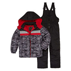 Camo Print Snowsuit - Preschool Boys