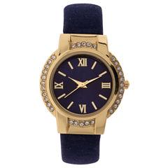 Mixit Womens Silver Tone Bracelet Watch-Jcp3009bg