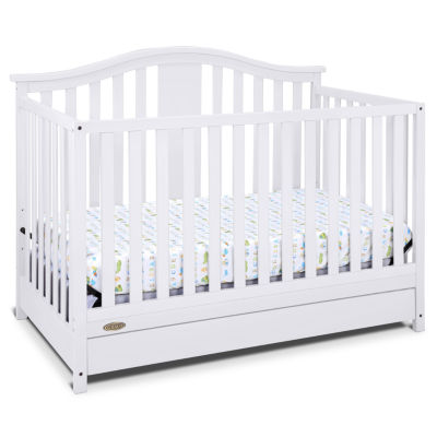 graco solano 41 convertible crib with drawer - Convertible Baby Cribs