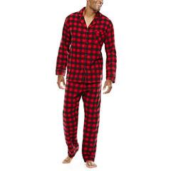 Hanes® Flannel Pajama Set—Big&Tall