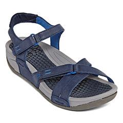 Yuu Devan Womens Strap Sandals