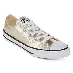 Converse® Chuck Taylor All Star Metallic Sneaker - Little Kids