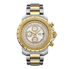JBW Stainless Steel Titus Mens Two Tone Bracelet Watch-J6347c