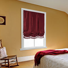 Royal Velvet Plaza Balloon Custom Cordless Roman Shade