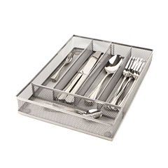 Mind Reader Mesh Cutlery Tray 2-Pack